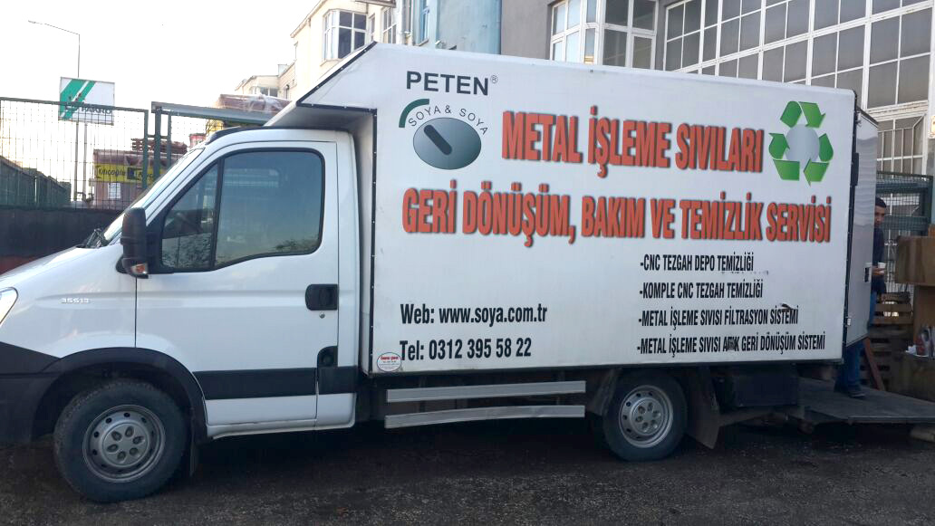 Cleaning Service Truck